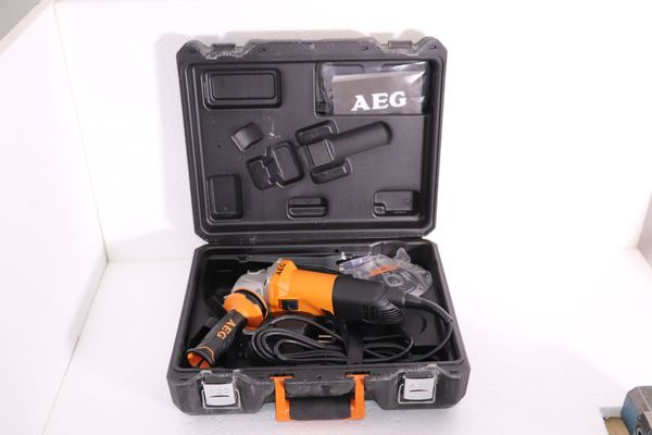 AEG Winkelschleifer 1000watt d-125