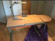 MOLL Premium Schreibtisch inkl Erweiterung