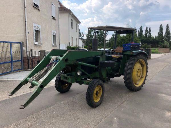 Traktor John Deere » Traktoren, Landwirtschaftliche Fahrzeuge