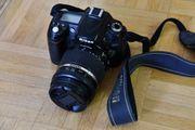 Kamera Nikon D90 und Objektiv