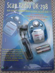 MINI-SCAN RADIO mit Kopfhörer - ideal