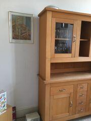 Küchenschrank Massivholz