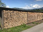 Brennholz trocken - hart