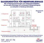 Bau-Grundstück für Mehrfamilienhaus 14 ETW