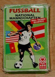 Karten-Spiel - Fußball-Nationalmannschaften - von ASS