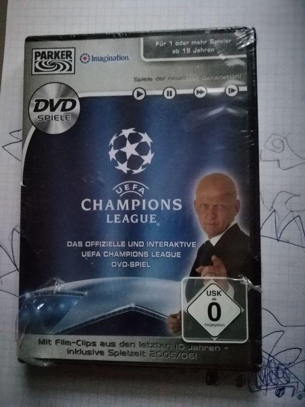 Champions Leagues DVD Spiel