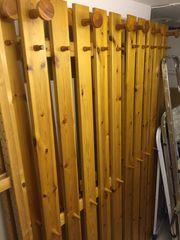 Ikea Holz Garderobe 4 Stück