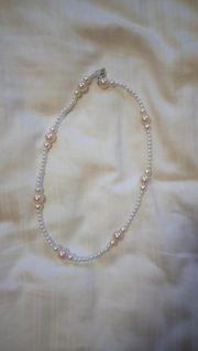 Selbstgemachte Perlenkette