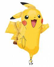 Pokemon Pikachu Folienballon Luftballon Helium