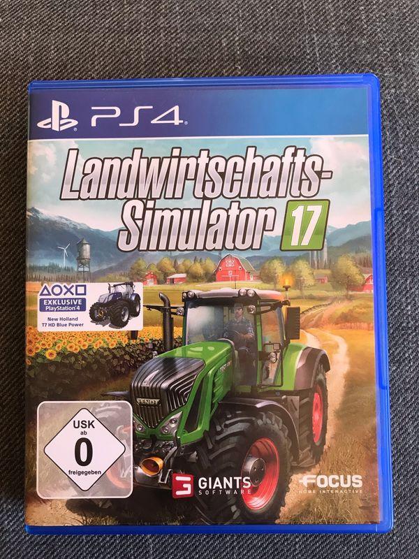 PS4 Spiel - Landwirtschafts-Simulator 17 - Top-Zustand -