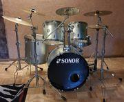 Komplettes Sonor Schlagzeug 505 Reflex