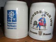 Bierkrüge Sommer Biwak 1978 Germania