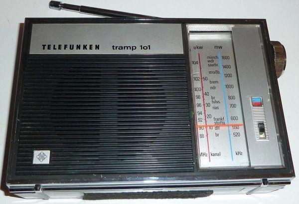 Telefunken - Tramp 101 - kl Kofferradio -