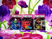 Romanhefte MONSTRULA 1974-1976 Erstausgabe komplett