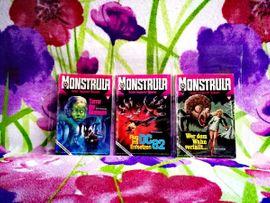 Romanhefte MONSTRULA 1974-1976 Erstausgabe: Kleinanzeigen aus Hasselfelde - Rubrik Comics, Science fiction, Fantasy, Abenteuer, Krimis, Western