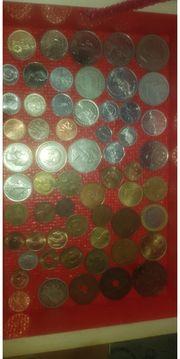 verschiedene münze