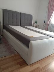 boxspringtbett 180x200 Bett mit Bettkasten