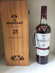 Macallan 25 Jahre Sherry Cask