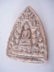 Stein Buddha Bild naturgehauen