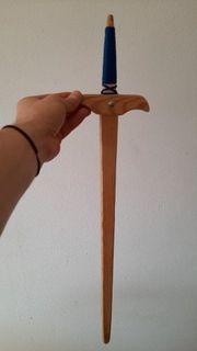 Holzschwert Ritter Schwert aus Holz