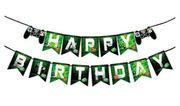 Geburtstag gaming deko set