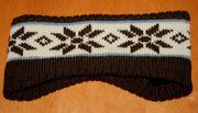 Warmes Strick-Stirn-Band - Size ca 51 cm
