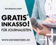 Kostenloses -vorgerichtliches- Inkasso für Journalisten