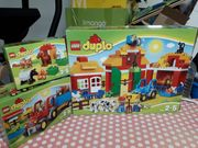 3er Set - Lego Duplo-Traktor- Bauernhof
