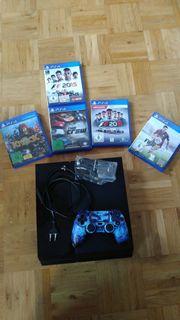PlayStation 4 Jet Black 500