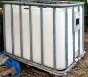 3x 1000l IBC Tank Wasserfass