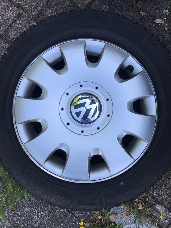 Original VW- Winterreifen Dunlop plus
