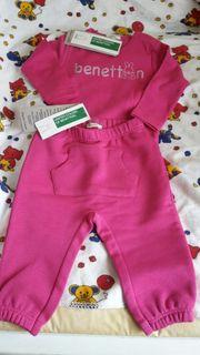 Neues Babyset Gr 62 Benetton