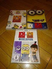 3 Stück minions DVDs