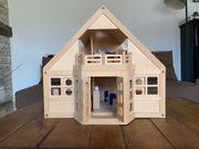 Puppenstube Puppenhaus mit viel Zubehör
