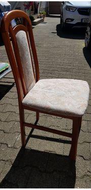 Schnäppchen Tisch mit 6 Stühlen