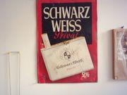 1Blechwerbeschild Zigaretten Schwarz Weiss 2