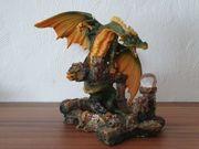 Drachenfigur mit Schatz
