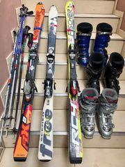 Carving Ski und Ski Schuhe