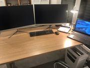 Neuwertiger Schreibtisch zu verkaufen