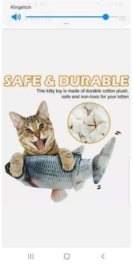 Zubehör für Haustiere - elektrischer Fisch der mit der