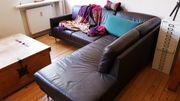 Sofa aus Leder 225x215