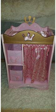 Baby Born Kleiderschrank rosa