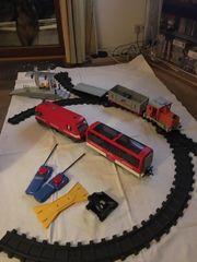 Playmobil Eisenbahn mit viel Zubehör