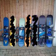 Snowboards von 129cm - 139cm - weitere