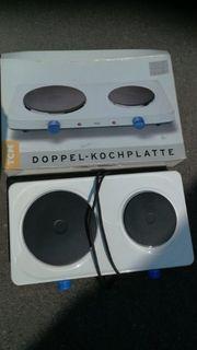 Doppel-Kochplatte