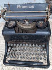 Alte Rheinmetall Schreibmaschine