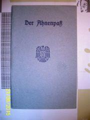 Ahnenpaß Gratzl Kainberger aus Österreich