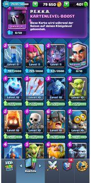 Clash Royale Account