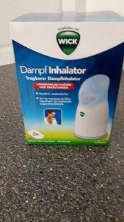 Dampfinhalator WICK mit Karton neu