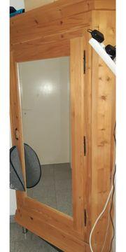 Garderobe Eckschrank